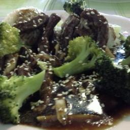 Chinesisches Rindfleisch mit Brokkoli