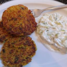 Couscous-Gemüse-Laibchen